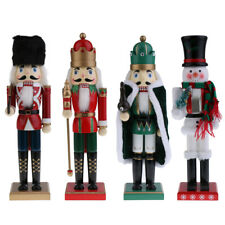 15'' Xmas Christmas Traditional Style Nutcracker Figurine Wooden Decoration