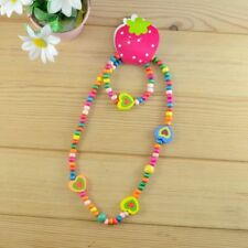 Flowers Animal Wooden Necklace Children's Fashionable Cute Necklace