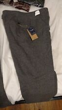 NWT Brooks Brothers Black Fleece Thom Browne Gray Flannel Trousers 36 Italy