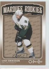 2006-07 O-Pee-Chee #554 Loui Eriksson Dallas Stars RC Rookie Hockey Card