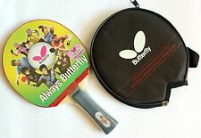 Butterfly Table Tennis Paddle / Bat with Case: TBC201, TBC-201, New, UK