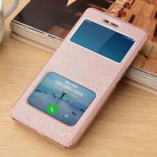 Luxury PU Leather Flip View Window Stand Cover Skin Case For Xiaomi & Redmi M