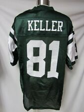 New York Jets Mens Size M & XL Dustin Keller #81 Screened Jersey bb 8109 8110