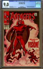 Avengers #57 CGC 9.0 Off-White Pages - 1st Appearance of Vision