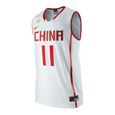 Nike Basketball Mens China National #11 Yi Jianlian Jersey 394854 100 DD39
