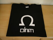 RETRO SYNTH T SHIRT SYNTHESISER DESIGN OHM S M L XL XXL