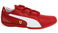 Puma Valorosso SF Ferrari Webcage + Lace Up Mens Red Trainers 305308 01 D10