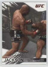 2010 Topps UFC Knockout Silver #25 Quinton Rampage Jackson MMA Card