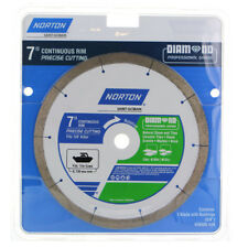 "Norton 4 to 7"" Wet/Dry Cut 1-Tooth/Continuous/Turbo Diamond Circular Saw Blade"