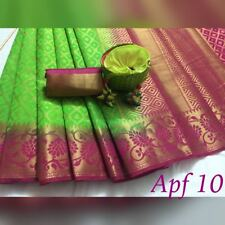 Indian Sari Pakistani Designer Party Wear Saree Bollywood Ethnic Dress - APF