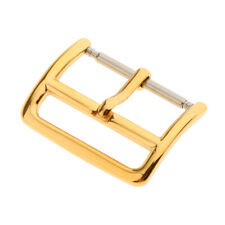 Gold Tone Stainless Steel Watch Clasp Watch Band Pin Buckle 18mm 20mm 22mm