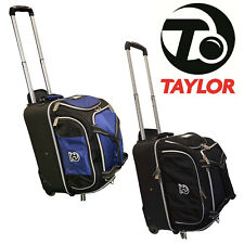 Taylor Bowls Hunter Roll A Bowl Trolley Case Lawn Bowls Bag Travel Luggage