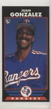 1993 The Colla Collection Diamond Marks #JUGO Juan Gonzalez Texas Rangers Card