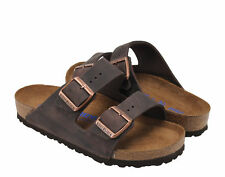 Birkenstock Arizona Soft Footbed Habana Brown Unisex Sandals 0452761-0452763