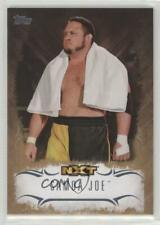2016 Topps WWE Undisputed NXT Prospects Bronze #NXT-26 Samoa Joe Wrestling Card