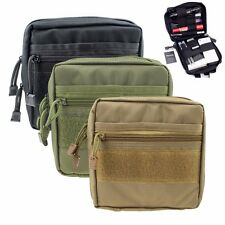 Multifunction Tactical Molle Organizer Bag Medical First Aid EDC Pouch Pocket