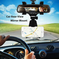 Universal Car Rear-view Mirror Mount Cell Phone GPS Navigate Stand Holder Cradle