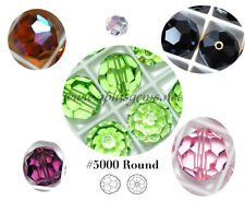 Authentic #5000 Swarovski Crystal 10mm Round Beads Special Coating 4pcs SALE
