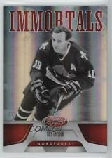 2011-12 Panini Certified Mirror Red 166 Guy Lafleur Quebec Nordiques Hockey Card