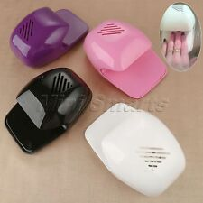 Portable 4 Colour Nail Art Dryer Fan Nail Polish Glue Fast Drying Machine 1Pc