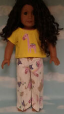 """Pajamas handmade for 18"""" American Girl Doll to fit 18 inch Doll Clothes 302a"""