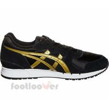 Asics Gel Movimentum H7X7L 9094 EB womens running black gold shoes sneakers