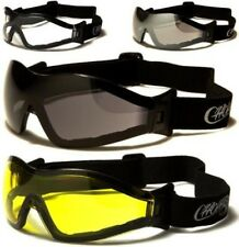 NEW BLACK CHOPPERS GOGGLES SUNGLASSES MENS LADIES SPORTS MOTORCYCLE DRIVING