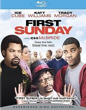 First Sunday Ice Cube *  (Blu-ray Disc, 2008) * Brand New Factory Sealed