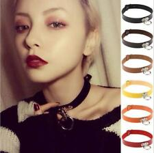 Neck Ring Choker Pendant Punk Gothic Pop Collar Leather Chain Necklace Classic