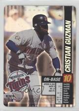 2002 MLB Showdown #189 Cristian Guzman Minnesota Twins Baseball Card