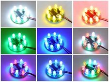 UFO LED Chaser Beacon Sequencer Light Flash Show - 8x 5mm LEDs