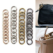 10Pcs New Metal HIgh Quality Women Man Bag Accessories Rings Hook Key Chain Bag'