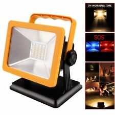 Portable 15W 24Led Rechargeable Camping Spotlights Emergency Work Light Lamp