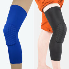 Strengthen Knee Pad Honeycomb Antislip Basketball Leg Knee Sleeve Protective Pad
