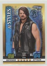 2017 Topps WWE Slam Attax 10th Edition #134 Smackdown Live AJ Styles Card