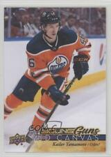 2017 Upper Deck UD Canvas #C102 Young Guns Kailer Yamamoto Edmonton Oilers Card