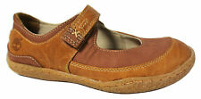 Timberland Grafton Hill Youths Kids MaryJane Shoes Brown Leather (51783 U74)