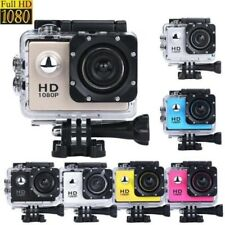 2 Inch Mini Waterproof Sports/Action Camera DV Camcorder 1080P HD & Accessories