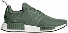 adidas Originals Men's NMD_R1 Sneaker, Trace Green/Trace Green/Turbo, 5 M US