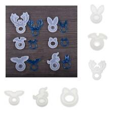 Silicone DIY Ring Mold Jewelry Pendant Ring Resin Casting Mould DIY Craft Making