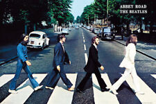 THE BEATLES ABBEY ROAD CROSSING POSTER (61x91cm) PICTURE PRINT NEW ART
