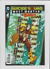 SUICIDE SQUAD MOST WANTED: DEADSHOT AND KATANA #1 (2016)