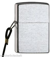 Zippo Loosproof BRUSHED CHROME PETROL Mack with or Without Gift Set 1029009