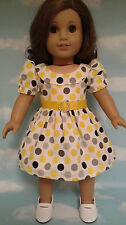 "Dress handmade to fit 18"" American Girl Doll 18 inch Doll Clothes 11b"