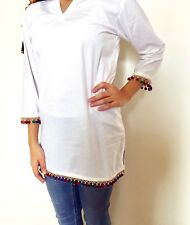 INDIAN DESIGNER PARTY TOP KURTA KURTI TUNIC TOP SHIRT WOMEN