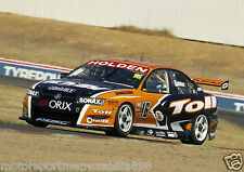 Garth Tander 6x4 or 8x12 photos V8 Supercars 2006 Holden HSV HRT TOLL