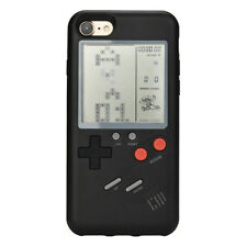 Game Boy Retro Style Soft Silicone Rubber Case Cover for iPhone 7 Plus/8 Plus