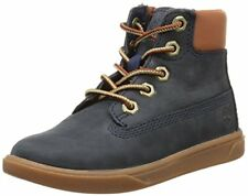Timberland A163 Kids Groveton 6-Inch Lace With Side Zip Boot