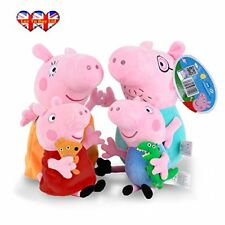 Peppa Pig Characters,Original Soft Toys:Daddy,Mummy, & Available