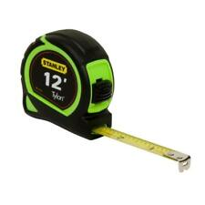 Stanley 12-ft Tape Measure 33-413 Tools Levels Measuring Measures
